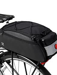 Недорогие -ROSWHEEL 10 L Сумки на багажник велосипеда Многофункциональный Большая вместимость Водонепроницаемость Велосумка/бардачок 600D нейлон Велосумка/бардачок Велосумка Велосипедный спорт