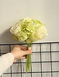 billige -Kunstige blomster 12 Gren Klassisk Veggmontert Moderne Moderne Roser Bordblomst
