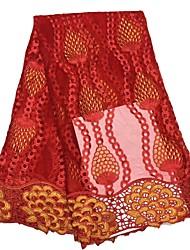 baratos -Rendas Floral Estampada 120 cm largura tecido para Vestuário e Moda vendido pelo Jarda