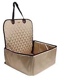 hesapli -Su Geçirmez / Taşınabilir / Kamp & Yürüyüş Köpek Giysileri Araba Koltuğu Kılıfı Solid Gri / Altın / Siyah Köpekler / Kediler