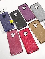 preiswerte -Hülle Für Samsung Galaxy A9 Star / Galaxy A9(2018) Beschichtung / Glänzender Schein Rückseite Durchsichtig / Glänzender Schein Weich TPU für A5(2018) / A6 (2018) / Galaxy A7(2018)