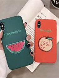 cheap -Case For Apple iPhone X / iPhone XS Max Frosted / Pattern Back Cover Word / Phrase Soft TPU for iPhone XS / iPhone XR / iPhone XS Max