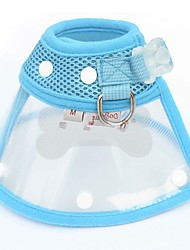 hesapli -Köpekler Kediler Yakalar Köpek Eğitim Tasmaları Su Geçirmez Taşınabilir Mini Solid Peluş Kırmzı Mavi Pembe