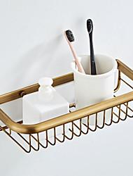 Недорогие -полка для ванной комнаты креативная современная латунь 1шт
