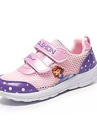 Недорогие -Девочки Обувь Сетка / Полиуретан Весна Удобная обувь Спортивная обувь Беговая обувь для Дети / Для подростков Лиловый / Розовый