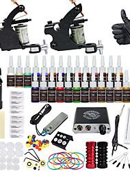 Недорогие -DRAGONHAWK Татуировочная машина Набор для начинающих - 2 pcs татуировки машины с 1 x 30 ml / 28 x 5 ml татуировки чернила, Для профессионалов, Безопасность, Простота установки Сплав M