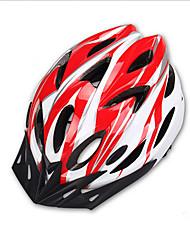 abordables -Juventud Adulto Casco de bicicleta 2 Ventoleras EPS+EPU ABS + PC Deportes Ciclismo / Bicicleta - Rojo y Blanco Negro / Blanco Azul / blanco Unisex
