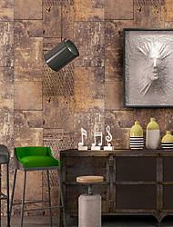 Χαμηλού Κόστους -ταπετσαρία Πλαστικά & Metal Κάλυψης τοίχων - κόλλα που απαιτείται Μοτίβο