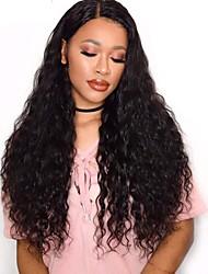 voordelige -4 bundels Braziliaans haar Watergolf Mensen Remy Haar Menselijk haar weeft Bundle Hair Extentions van mensenhaar 8-28inch Natuurlijke Kleur Menselijk haar weeft Schattig Modieus Design Geschenk