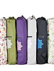 お買い得  -ジムバッグ / ヨガバッグ / キャリーケース - ヨガ, ピラティス ヨガ キャンバスレザー 濃い紫色, ライトグレー, ダークネービー