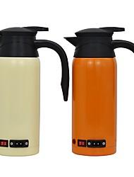 Недорогие -Автомобильный электрический чайник из нержавеющей стали на 0,8 л переносной / одноклавишный автоматический выключатель / удобный дизайн чашки для автомобиля / грузовика 12 / 24v
