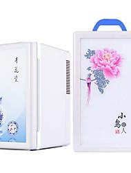 Недорогие -автомобильный холодильник 16 л малошумный двойной холодильник портативный холодильник для автомобиля и дома