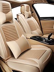 Недорогие -бизнес передние задние универсальные автомобильные чехлы на сиденья и подголовники комплекты роскошных симпатичных транспортных средств универсальные / полиэстер / нетканые / хлопок
