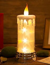 hesapli -1pc Gece aydınlatması LED Sıcak Beyaz USB Çocuklar için / Yaratıcı <=36 V