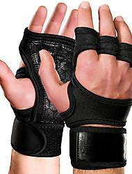 Недорогие -Защитная экипировка Тренировочные перчатки Толстые насадки на гриф штанги Регулируется Силовая тренировка Прочный Полная защита кистей и надёжный захват Дышащий Сила всего тела
