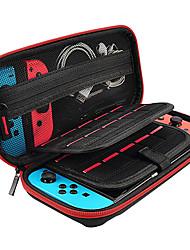 hesapli -Cooho geçerlidir nintendo anahtarı saklama çantası çift bölmesi oyun kartı dört köşe paket anahtarı ev sahibi koruma paketi