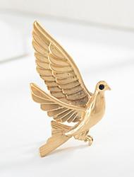 povoljno -Žene Klasičan Broševi Ptica Sa životinjama Crtići slatko Moda folk stil Broš Jewelry Zlato Pink Za diplomiranje Dar Dnevno Karneval Festival