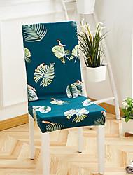 levne -Potah na židli Květinový / Tisk / Scéna Barvená příze / S potiskem Polyester potahy