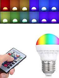 abordables -3 W Ampoules Globe LED 150 lm E26 / E27 3 Perles LED LED Haute Puissance Commandée à Distance 85-265 V, 1pc