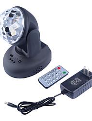Недорогие -1шт 10 W 0 lm 6 Светодиодные бусины Пульт управления Светодиодные театральные лампы RGB 110-240 V Выступление