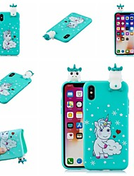 billige -Etui Til Apple iPhone XR / iPhone XS Max Mønster Bagcover Dyr / Tegneserie Blødt TPU for iPhone XS / iPhone XR / iPhone XS Max