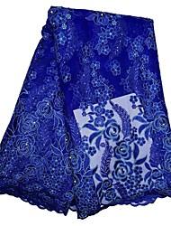 baratos -Rendas Floral Estampada 125 cm largura tecido para Vestuário e Moda vendido pelo Jarda