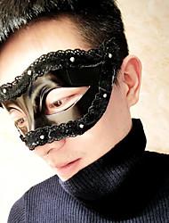 preiswerte -Superheld Cosplay Kostüme Maske Kinder Erwachsene Herrn Cosplay Halloween Halloween Karneval Maskerade Fest / Feiertage Kleben Polyester Schwarz / Orange / Tintenblau / Elfenbein Karneval Kostüme