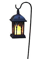 billige -1pc 0.2 W Vedhæng Lys / Lawn Lights / Led Street Light Solar Gul 1.2 V Udendørsbelysning / Gårdsplads / Have LED Perler