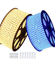 cheap -KWB 6m Flexible LED Light Strips 360 LEDs SMD5050 1Set Mounting Bracket Warm White / White / Red Waterproof / Cuttable / Decorative 220-240 V 1 set