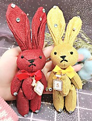 economico -Rabbit / Creativo Bomboniere Portachiavi Stoffa (cotone) Tastiere RFID - 1 pcs Per tutte le stagioni