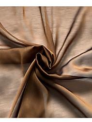 preiswerte -Chiffon einfarbig Stretch 150 cm Breite Stoff für Bekleidung und Mode verkauft bis zum 0,1 m