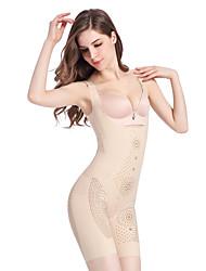 ราคาถูก -Polyester / Polyamide เสื้อลัดลำตัวสตรี ขอบด้านล่างเป็นลายลูกไม้ งานแต่งงาน