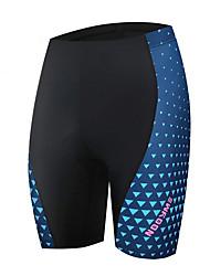 billiga -Malciklo Dam Cykelshorts Cykel Shorts sporter Svart / Blå Bergscykling Vägcykling Kläder Cykelkläder / Microelastisk