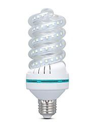 ieftine -16 W Becuri LED Corn 1500 lm E26 / E27 80 LED-uri de margele SMD 2835 Alb Cald Alb 220-240 V, 1 buc