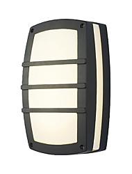 hesapli -Duvar ışığı Aşağı Doğru Banyo Aydınlatması / Dış Duvar Işıkları 15 W 110-120V / 220-240V Birleştirilmiş LED Basit / Modern Çağdaş