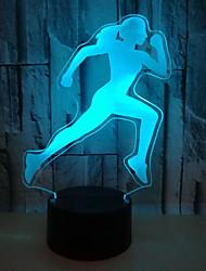 זול -אור, מופעל, לילה, אור, 3D, לרוץ, ילדה, חזותי, אנרגיה, חיסכון, הבט, טיפול, הוביל, שולחן, מנורה, סלון, חדר<5v