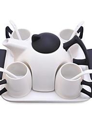 billige -drinkware Drinkware Set Porcelæn Bærbar Afslappet / Hverdag