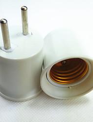 ieftine -1 buc Priză EU la E27 E14 100-240 V Convertor Plastic Bec pentru becuri