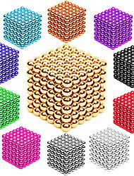 Недорогие -216/512 pcs 3mm / 5mm Магнитные игрушки Магнитные шарики Конструкторы Сильные магниты из редкоземельных металлов Неодимовый магнит Неодимовый магнит