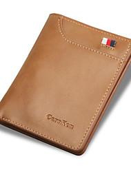 cheap -Men's Bags PU(Polyurethane) Wallet Zipper Gray / Coffee / Brown