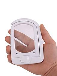 Недорогие -многофункциональная 2-х светодиодная 3-кратная складная лупа с подсветкой для чтения рук увеличительное стекло
