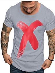cheap -Men's T-shirt - Geometric White L