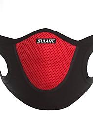 Недорогие -пылезащитная маска для лица рот аллергия пылезащитная маска для взрослых унисекс открытый бег езда на велосипеде черный