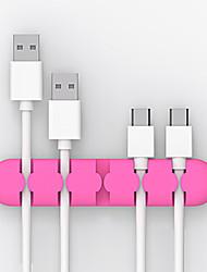 Недорогие -Cable Organizers Творчество / Новый дизайн / Маленький размер Кубический Крышка кабельного шнура / Держатель кабельного шнура