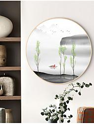 cheap -Framed Canvas Prints - Landscape Still Life Wood Sketch Wall Art