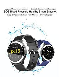 Недорогие -KUPENG B67 Мужчина женщина Смарт Часы Android iOS Bluetooth Водонепроницаемый Сенсорный экран Пульсомер Измерение кровяного давления Спорт / Израсходовано калорий / Длительное время ожидания