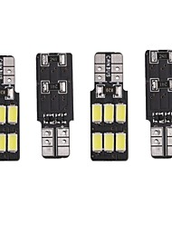 Недорогие -4шт T10 / W5W Автомобиль Лампы 2 W SMD 5730 120-140 lm 6 Светодиодная лампа Подсветка для номерного знака / Задний свет / Внутреннее освещение Назначение Универсальный Все года