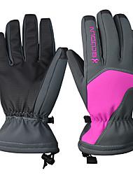 Недорогие -Лыжные перчатки Жен. Снежные виды спорта Полный палец Зима PU Снежные виды спорта Зимние виды спорта