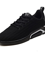 cheap -Men's Fashion Boots Tissage Volant Spring & Summer Sporty / Casual Athletic Shoes Walking Shoes Breathable Booties / Ankle Boots Gray / Black / Gold / Black and White