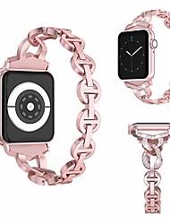 voordelige -Horlogeband voor Apple Watch Series 4/3/2/1 Apple Sieradenontwerp Roestvrij staal Polsband